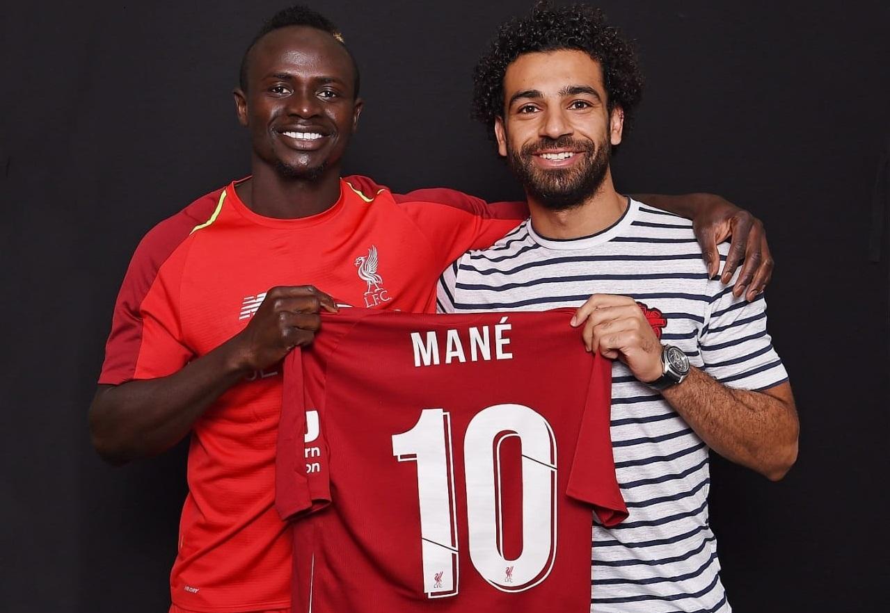 timeless design d6881 922a8 Football : Mane gets legendary number 10 Liverpool shirt ...