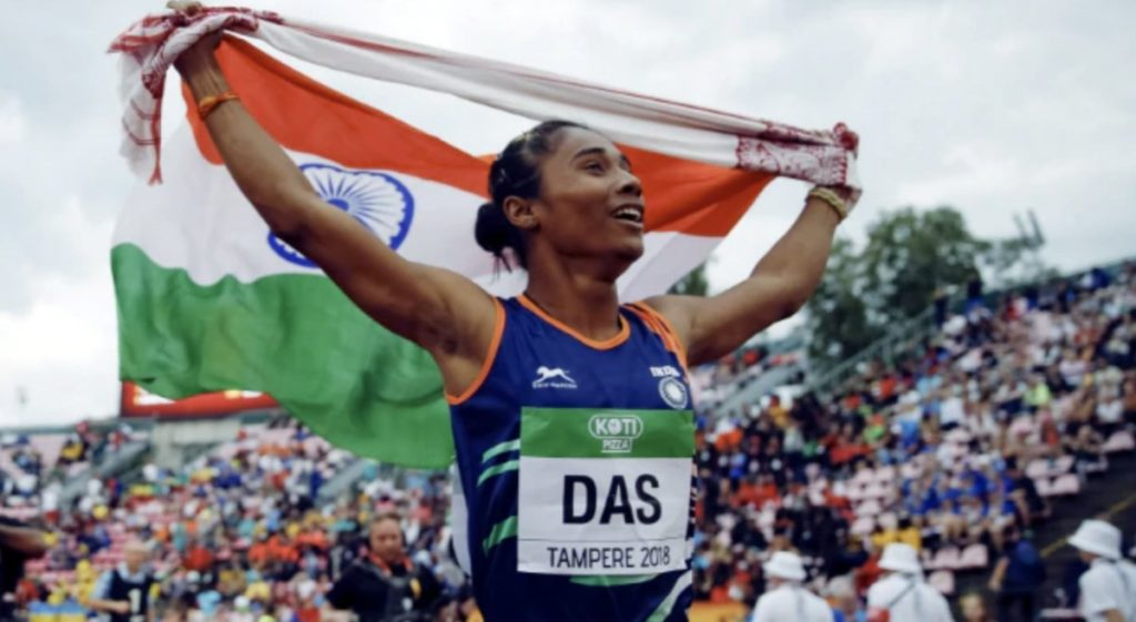 Hima Das might not be able to represent India in the upcoming World Relays