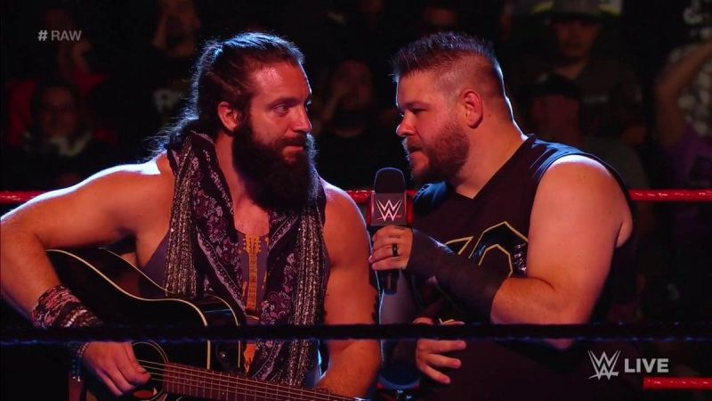 Kevin Owens and Elias