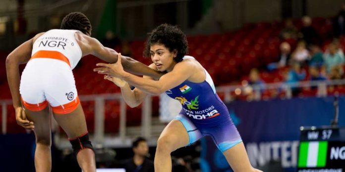 Pooja Dhanda World Wrestling Championships Dangal girl bronze India