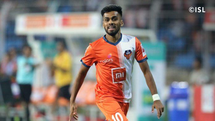 Brandon Fernandes FC Goa (credits- indiansuperleague.com)