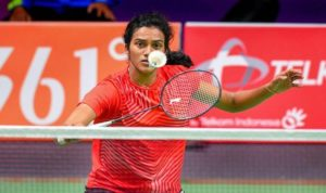 PV Sindhu outclassed her Japanese opponent with ease.