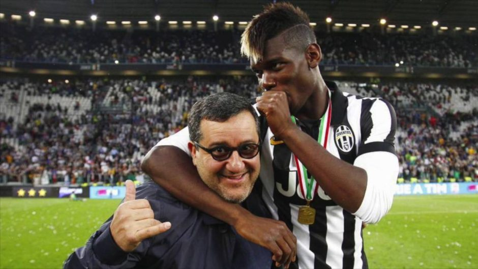 Raiola cannot negotiate transfer talks in this summer window