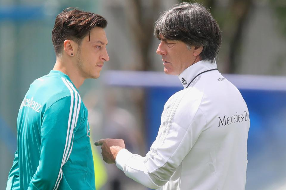 256deeba6 Germany's current and World Cup-winning coach Joachim Low visited Arsenal's  training ground and has spoken out that he feels 'extremely disappointed'  given ...
