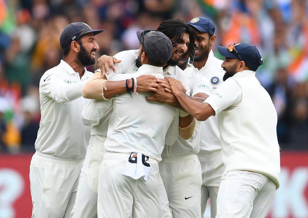 भारत क्रिकेट सीरिज बढ़त