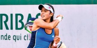 Ankita Raina got the better of a former US Open champion in the WTA 125K event