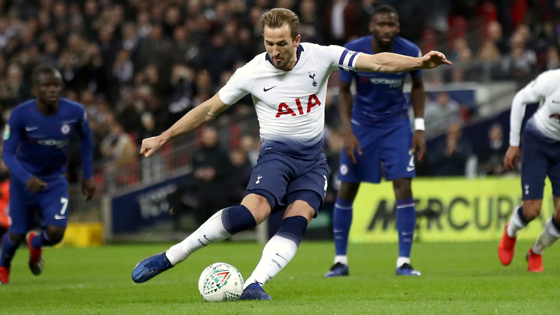 Harry Kane Becomes First Ever Tottenham Player To Score 20 Goals In 5 Succesive Seasons