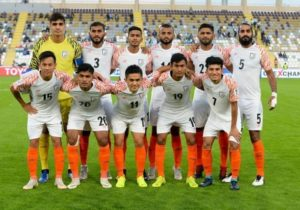 India are now ranked 103 in the latest FIFA rankings