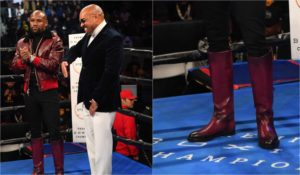 Floyd Mayweather boots