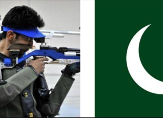 There will be no Pakistani shooters in the forthcoming shooting World Cup to be held in New Delhi