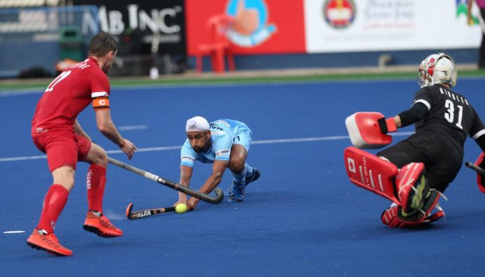 India defeated Canada 7-3 at the Sultan Azlan Shah Cup in Malaysia