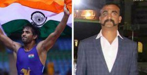 Bajrang Punia dedicated his gold medal to IAF Pilot Abhinandan Varthaman