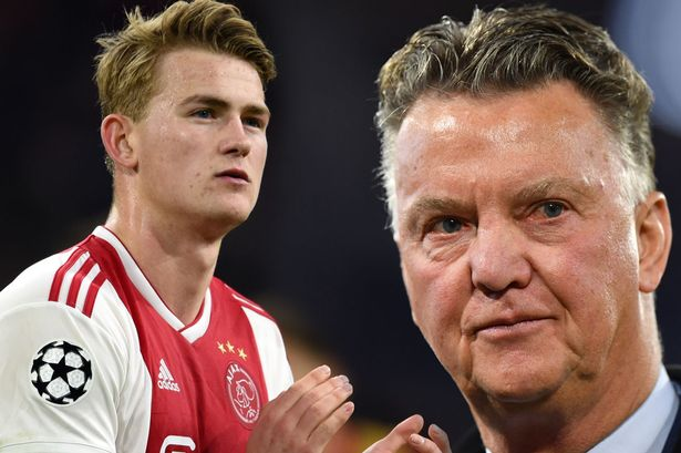 Louis Van Gaal Picks The Perfect Club For De Ligt To Go To