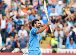 A chance for Rohit Sharma to tumble the big records