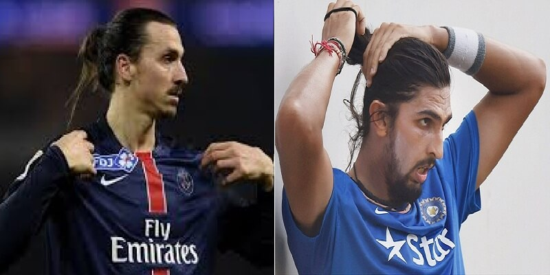 Photo: Rohit Sharma compared Ishant Sharma with Zlatan Ibrahimovic ...