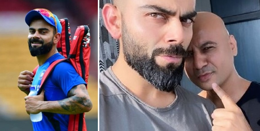 See Virat Kohli S New Bomb Hairstyle To Welcome In 2020
