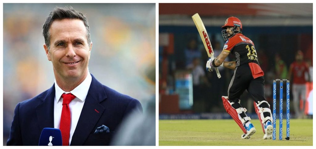Michael Vaughan expects RCB to be a lot stronger with Virat Kohli opening the innings