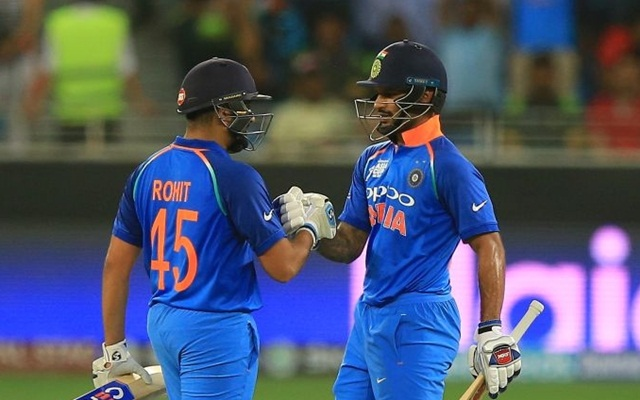 IND vs ENG: Shikhar Dhawan and Rohit Sharma to remain first choice openers, reveals Kohli
