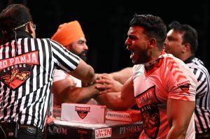 Pro Panja League, Pro Panja Mega Matches-1, Michael Todd, Sarah Backman, Arm Wrestling India