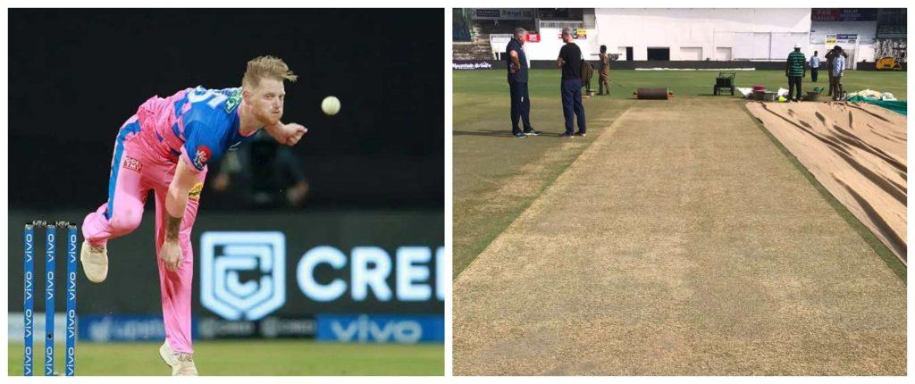 IPL 2021: Ben Stokes slams the pitches on display so far