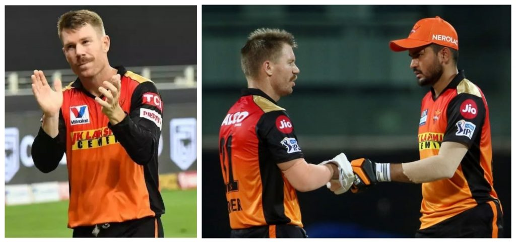 David Warner admits dropping Manish Pandey was a harsh call by selectors