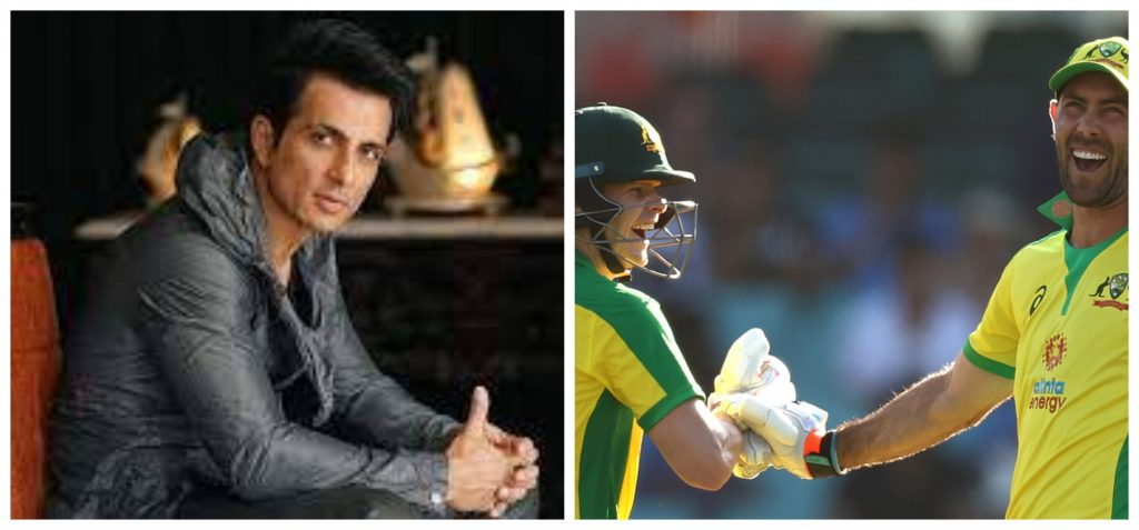 Sonu Sood jokingly suggests the Australian cricketers to 'pack their bags' to send them home