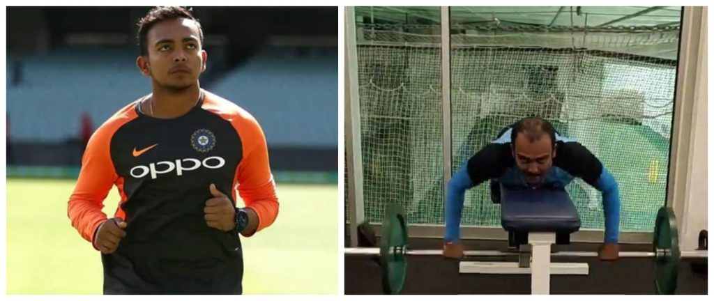 BCCI suggested Prithvi Shaw to shed some weight prior to squad selection for England