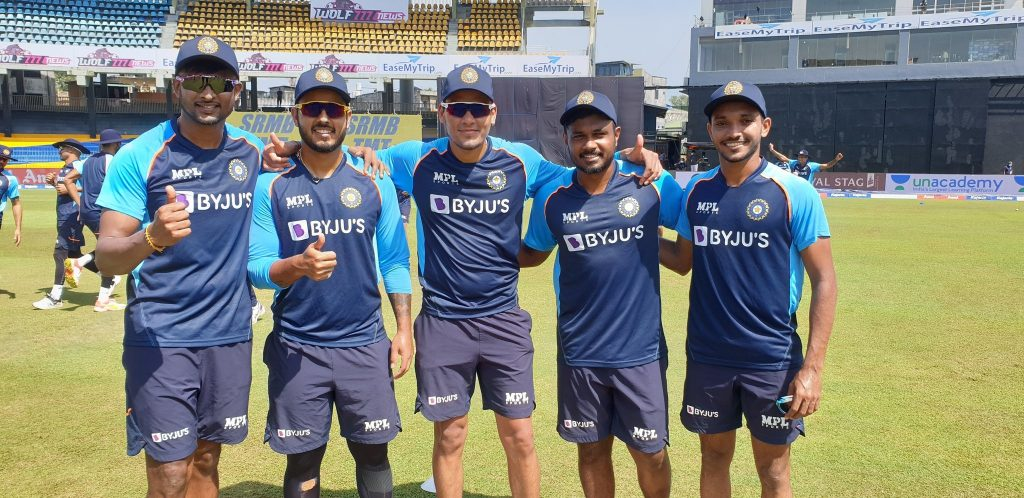SL vs IND: Team India hand out debut caps to 5 players for the final ODI against Sri Lanka