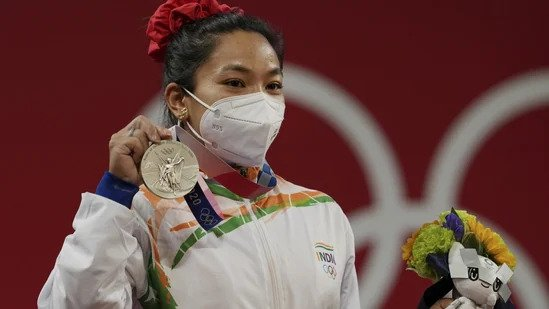 Mirabai Chanu could be promoted to the gold medal as anti-doping authorities set to test Hou Zhihui
