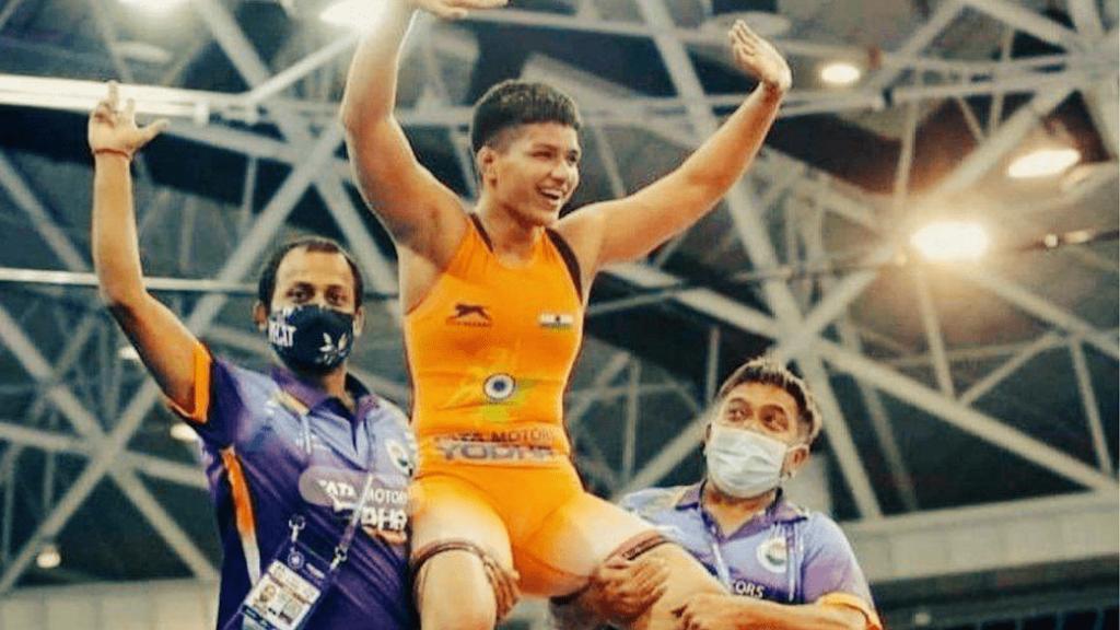 Priya Malik captures gold for India at World Cadet Wrestling Championship in Hungary