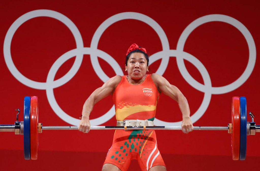 Mirabai Chanu bags silver medal in Weightlifting Women's 49Kg category in Tokyo Olympics