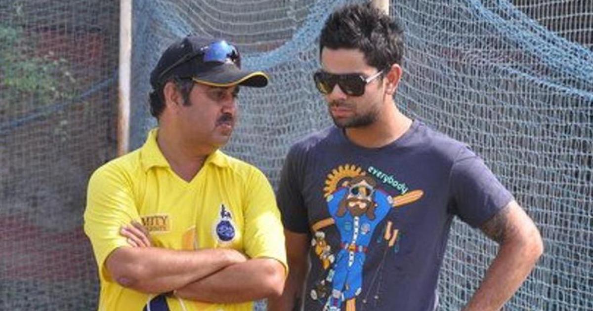 Virat Kohli's childhood coach feels the Indian skipper is not far away from scoring a hundred