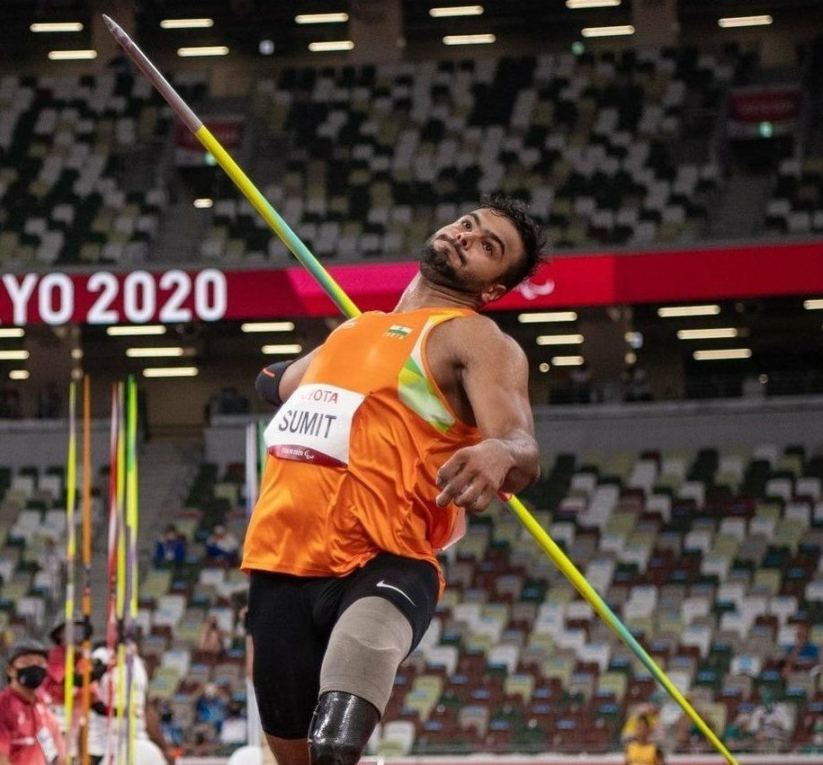 Tokyo Paralympics: Sumit Antil bags Gold Medal in Men's Javelin, creates new world record